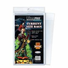 UP - Comic Bags - Current Size (100 Bags)