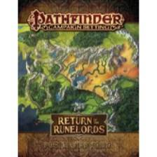 Return of the Runelords Poster Map Folio: Pathfinder Campaign Setting
