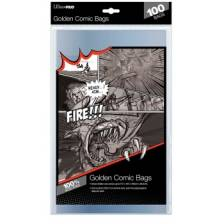 UP - Comic Bags - Golden Size (100 Bags)