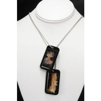 Twilight Breaking Dawn Epoxy Dog Tags Edward with Necklace
