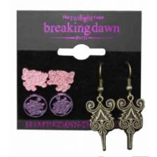 Twilight Breaking Dawn Earrings 3 Pack CULLENS
