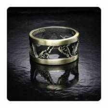 Twilight Breaking Dawn Part 2 Ring WOLVES (Size 8 1/2)