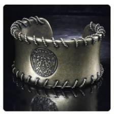 Twilight Breaking Dawn Part 2 Wire Cuff Bracelet Tribal Tatoo