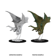 Young Bronze Dragon: D&D Nolzur's Marvelous Unpainted Miniatures (W9)