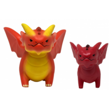 UP - Figurines of Adorable Power: Dungeons & Dragons Red Dragon Assortment (5+1 Limited Edition)