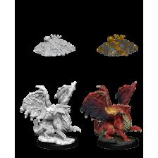 Red Dragon Wyrmling (PACK OF 6): D&D Nolzur's Marvelous Unpainted Miniatures (W10)