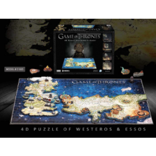 4D Cityscape - Game of Thrones Puzzle of Westeros & Essos