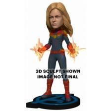 Avengers: Endgame - Head Knocker - Captain Marvel 20cm