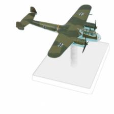 WW2 Wings of Glory ? Squadron Pack: Dornier Do.17 Z (KG76)