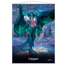 UP - Stained Glass Wall Scroll Magic: The Gathering - Ugin