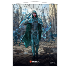 UP - Stained Glass Wall Scroll Magic: The Gathering - Jace