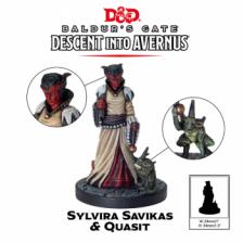 Sylvira Savikas: D&D Collector's Series Descent into Avernus Miniature
