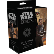 Star Wars Legion: Iden Versio and Dio Commander Expansion