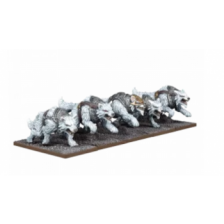 Tundra Wolves Troop: Kings of War 3rd Edition