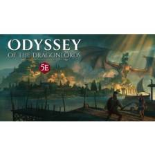 Odyssey of the Dragonlords: Deluxe poster map pack & GM Screen Bundle