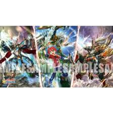 Bushiroad Rubber Playmat Extra Vol.7 FutureCard BuddyFight G BOOST-Mind, Technique, Body
