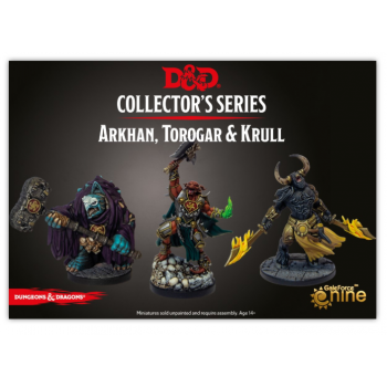 Arkhan The Cruel And The Dark Order (Torogar and Krull): D&D Collector's Series Descent into Avernus
