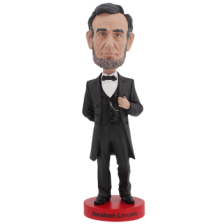 Royal Bobbles - Abraham Lincoln V2 Bobblehead