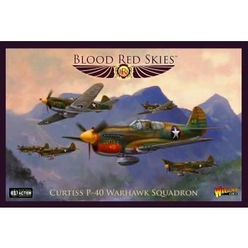 Blood Red Skies - Curtiss P-40 Warhawk squadron