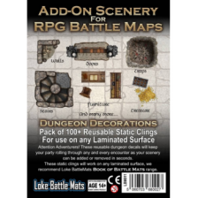 Add-On Scenery for RPG Maps - Dungeon Decorations
