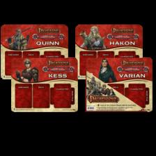 UP - Pathfinder Adventure Card Game: Curse of the Crimson Throne Mini Mat 4 Pack