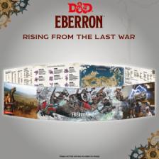 D&D - Rising from the last war - Eberron DM Screen