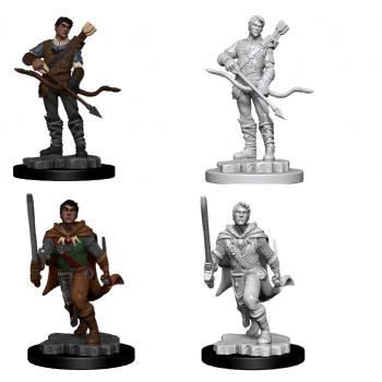 D&D Nolzur's Marvelous Miniatures - Male Human Ranger (6 Units)