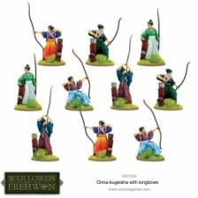 Warlord of Erehwon: Onna-bugeisha with Longbows