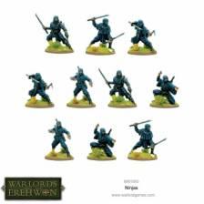 Warlord of Erehwon: Ninjas