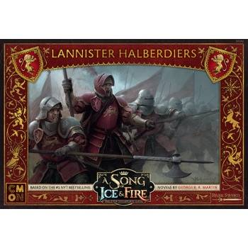 A Song Of Ice And Fire - Lannister Halberdiers