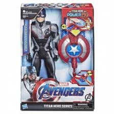 Avengers Titan Hero Captain America with Power FX