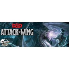 Attack Wing: Dungeons & Dragons Wave Bases Set - RED