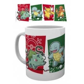 GBeye Mug - Pokemon Snowball Starters Christmas Mug