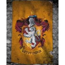 GBeye Mini Poster - Harry Potter Gryffindor Flag