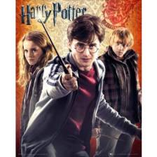 GBeye Mini Poster - Harry Potter Trio