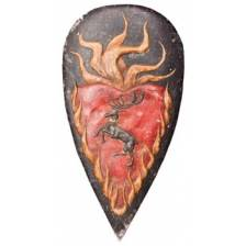 Game of Thrones Shield Pin: Stannis Baratheon