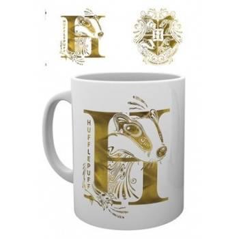 GBeye Mug - Harry Potter Hufflepuff Monogram