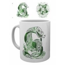 GBeye Mug - Harry Potter Slytherin Monogram