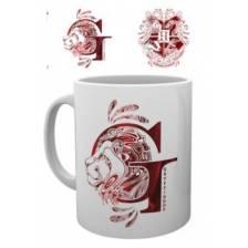 GBeye Mug - Harry Potter Gryffindor Monogram