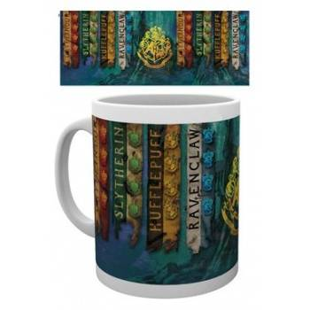 GBeye Mug - Harry Potter House Flags