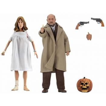 Halloween 2 - Doctor Loomis & Laurie Strode 2-Pack Clothed Action Figures 20cm