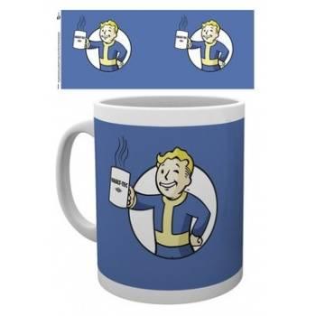 GBeye Mug - Fallout Vault Boy Holding Mug