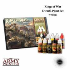 The Army Painter - Warpaints Kings of War Dwarfs paint set