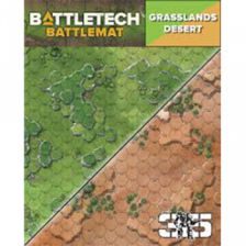 BattleTech Battle Mat Grasslands Desert