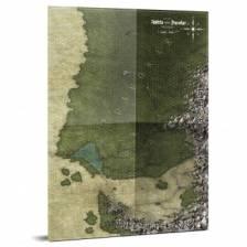 Symbar and Davokar Hex Map: Symbaroum RPG