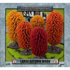 Battlefield In A Box - Large Autumn Wood (x1) - 30mm