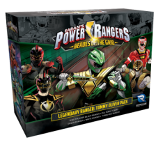 Power Rangers: Heroes of the Grid Legendary Ranger: Tommy Oliver Pack