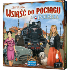 Ticket To Ride Poland: Map Collection 6.5 (Polish/ English Rules Included)