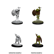 Bullywug (PACK OF 6): D&D Nolzur's Marvelous Unpainted Miniatures (W12)