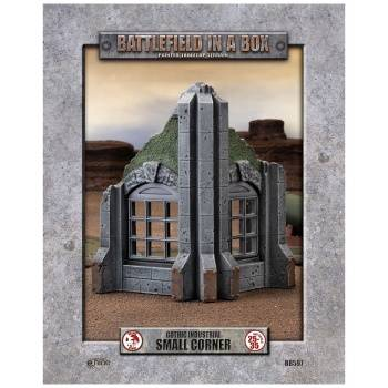 Battlefield In A Box - Gothic Industrial Ruins - Small Corner